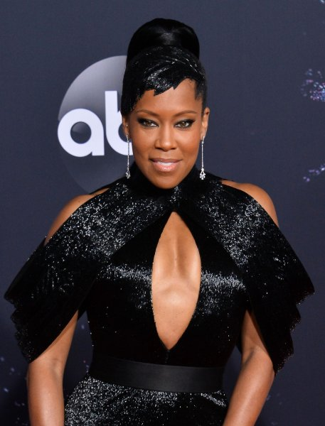 Regina King arrives for the 47th annual American Music Awards at the Microsoft Theater in Los Angeles on November 24. The actor turns 49 on January 15. File Photo by Jim Ruymen/UPI