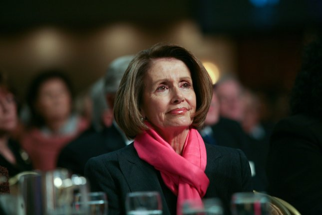 House Minority Leader Nancy Pelosi (D-CA) is seen during the National Prayer Breakfast at the Washington Hilton, in Washington on February 3, 2011. UPI/Gary Fabiano/Pool