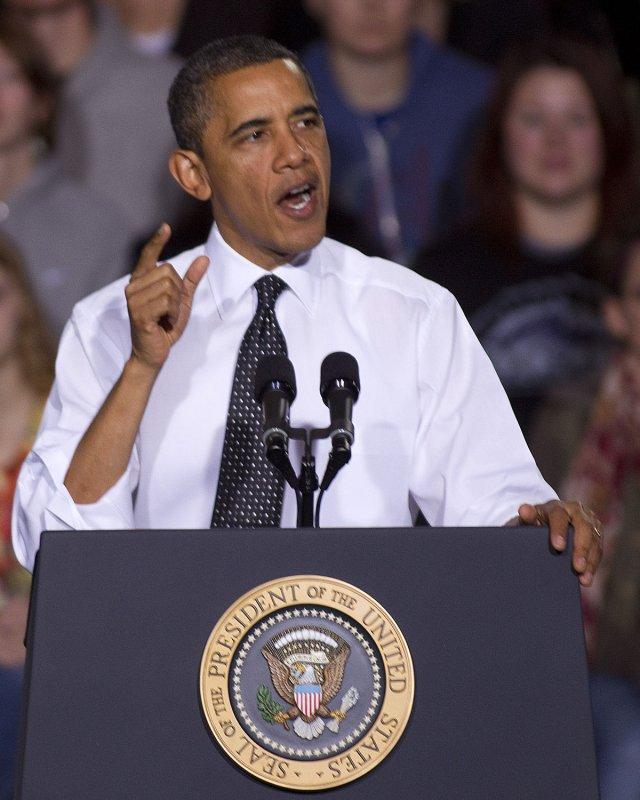 President Barack Obama. File photo. UPI/Gary C. Caskey