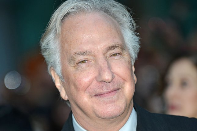 Director and actor Alan Rickman arrives at the world premiere of A Little Chaos at the Toronto International Film Festival on September 13, 2014. File Photo by Christine Chew/UPI