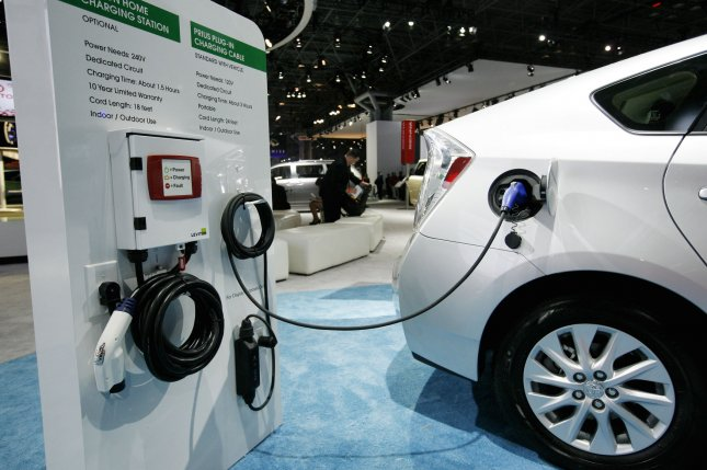 Most EV charging stations require a membership to use, which critics say is an obstacle for industry growth. File Photo by Monika Graff/UPI
