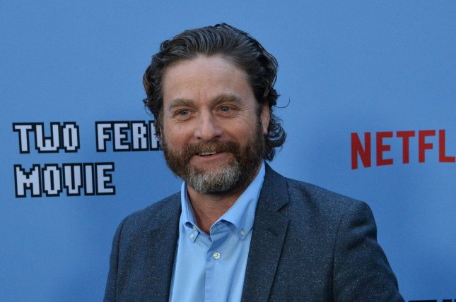 Zach Galifianakis provides the voice of a robot named Ron in Ron's Gone Wrong. File Photo by Jim Ruymen/UPI