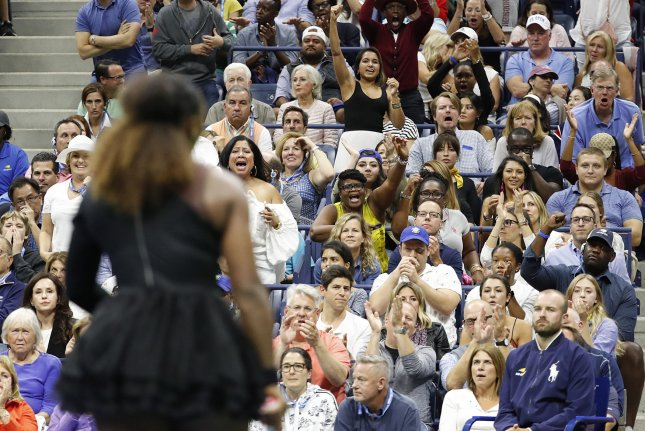 """""""We missed having our fans on-site [in 2020], because we know that they are a large part of what makes the U.S. Open experience unlike any other, USTA CEO Mike Dowes said Thursday.File Photo by John Angelillo/UPI"""