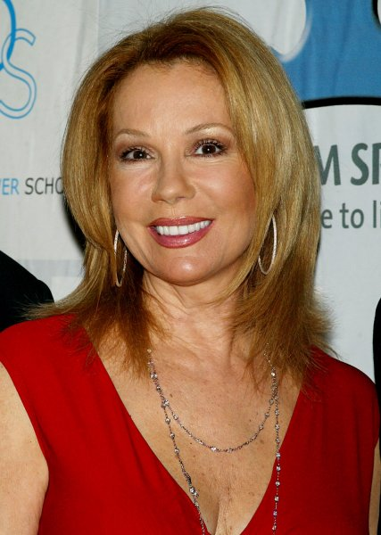 Kathie Lee Gifford arrives for the Autism Speaks NFL Kickoff for a Cure II Benefit Gala at the Waldorf Astoria Hotel in New York on March 14, 2007. (UPI Photo/Laura Cavanaugh)