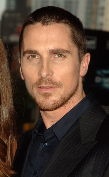 Actor Christian Bale attends the world premiere in New York for his new film The Dark Knight on July 14, 2008. (UPI Photo/Ezio Petersen)