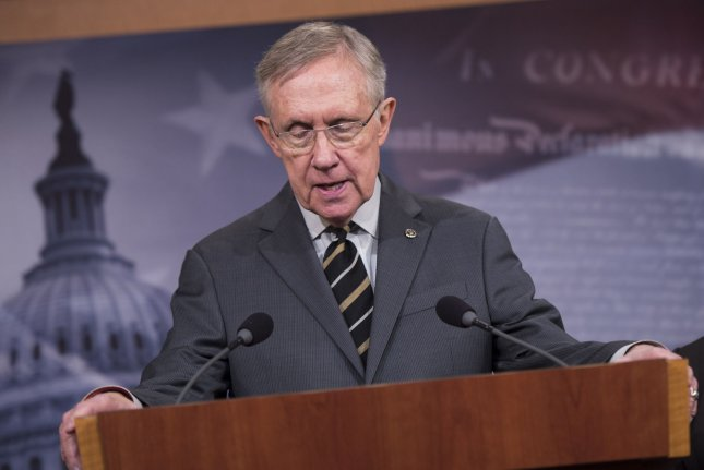 Senate Majority Leader Harry Reid. UPI/Kevin Dietsch