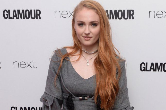 Game of Thrones actress Sophie Turner attends the Glamour Women of the Year Awards in London on June 7, 2016. Photo by Rune Hellestad/ UPI