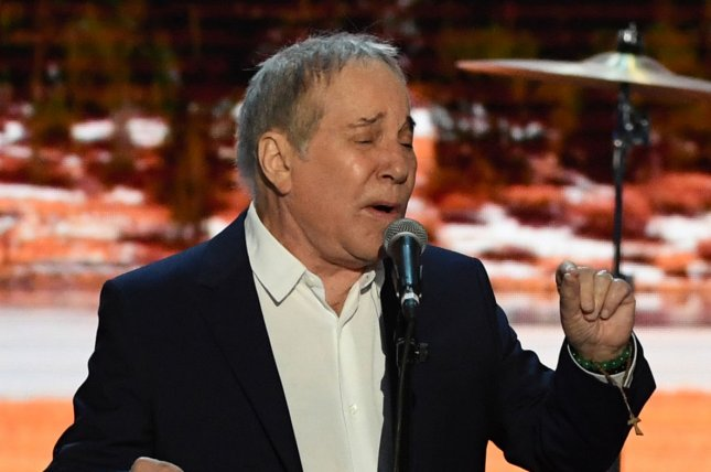 Musician Paul Simon has performed his last concert in Queens, N.Y. File Photo by Pat Benic/UPI