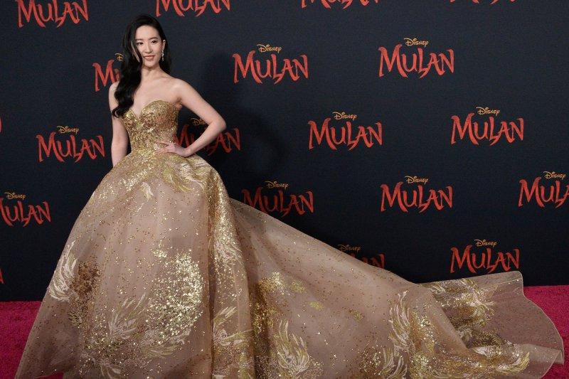 Liu Yifei attends the Los Angeles premiere of Mulan on Monday. Photo by Jim Ruymen/UPI