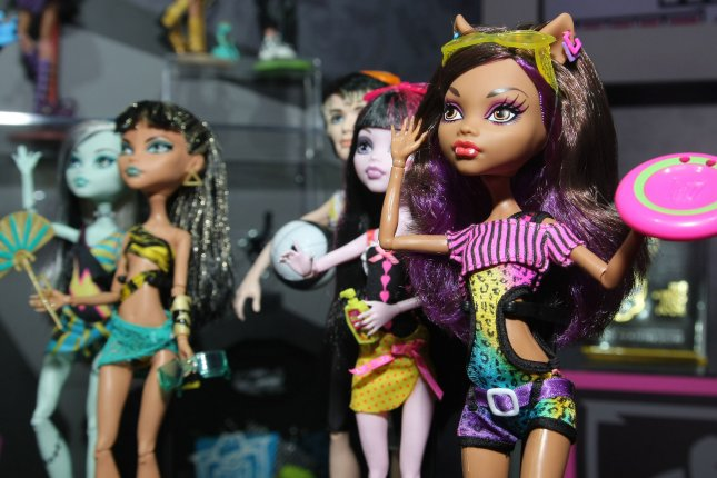 Mattel and Nickelodeon have announced a Monster High animated series and a live-action musical, based on Mattel's fashion dolls of the same name. File Photo by Monika Graff/UPI