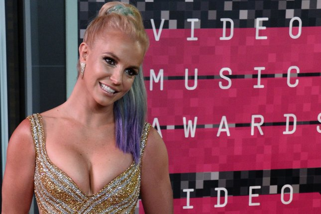 Singer Britney Spears arrives on the red carpet for the 32nd annual MTV Video Music Awards at Microsoft Theater in Los Angeles on Aug. 30, 2015. Photo by Jim Ruymen/UPI