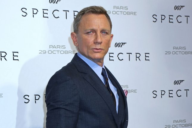 Daniel Craig arrives at the French premiere of the new James Bond film Spectre in Paris on October 29, 2015. Craig is now close to joining heist film Logan Lucky alongside Katherine Heigl. File Photo by David Silpa/UPI.