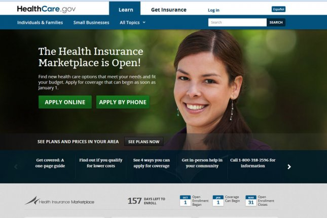 Statistics from the federal government showed Thursday the number of people signing up for coverage under the Affordable Care Act for 2019 are down by more than 10 percent. UPI Photo