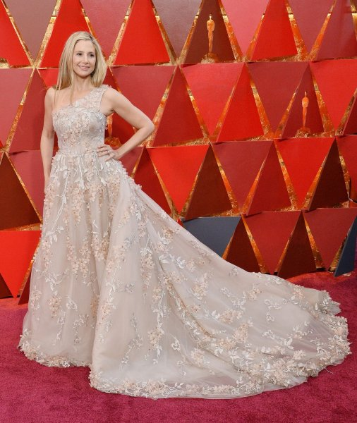 Mira Sorvino arrives on the red carpet for the 90th annual Academy Awards at the Dolby Theatre in the Hollywood section of Los Angeles on March 4, 2018. The actor turns 54 on September 28. File Photo by Jim Ruymen/UPI