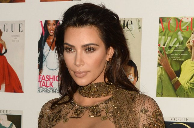 Kim Kardashian at the Vogue 100 gala on May 23. The reality star is mom to 3-year-old North and 7-month-old Saint. File Photo by Paul Treadway/UPI