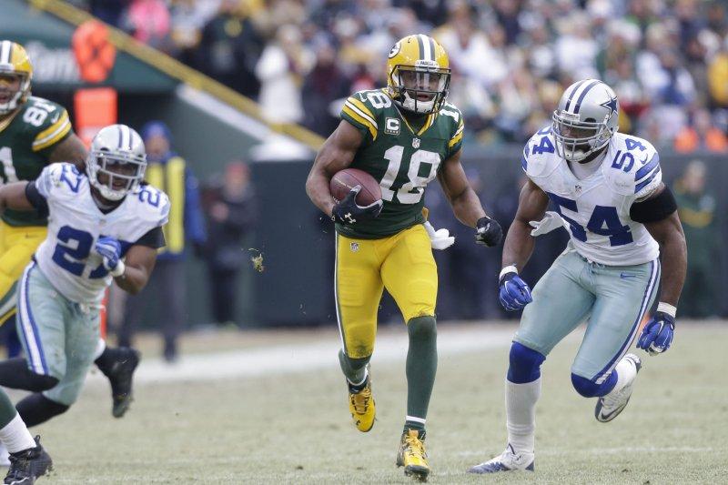 Green Bay Packersu0027 Randall Cobb Sore After Getting U0027folded Up Like A Lawn  Chairu0027