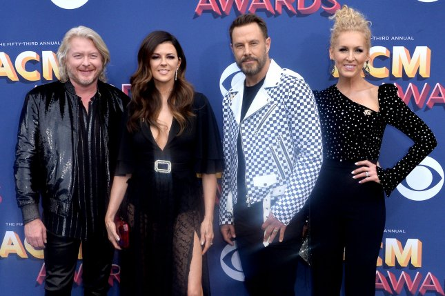 Little Big Town is set to host next month's CMT Awards ceremony in Nashville. File Photo by Jim Ruymen/UPI
