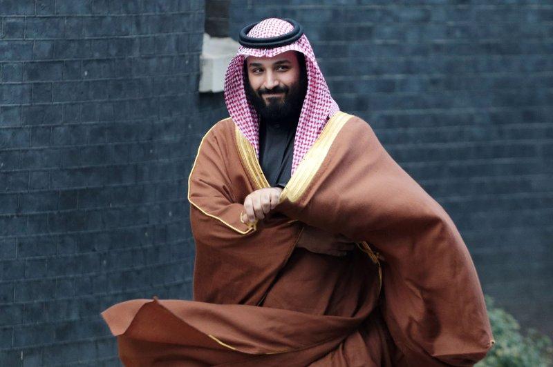 Saudi Crown Prince Mohammed bin Salman's key adviser and personal protection team were directly involved in the slaying of Jamal Khashoggi, U.S. intelligence said. File Photo by Hugo Philpott/UPI