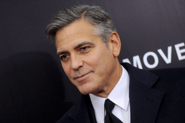 George Clooney shown on February 4, 2014. UPI/Dennis Van Tine