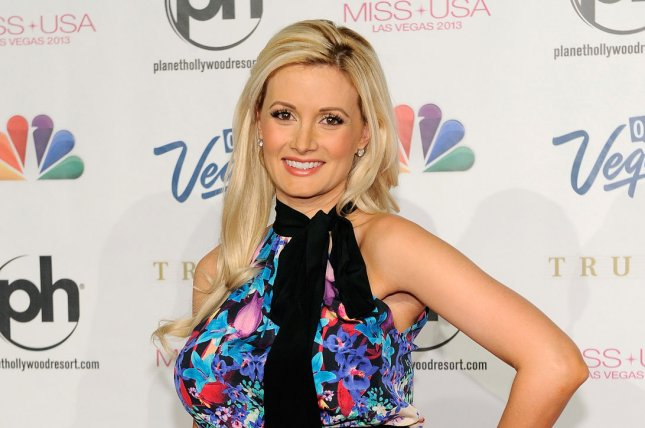 Model and television personality Holly Madison arrives at the 2013 Miss USA competition at the Planet Hollywood Resort and Casino in Las Vegas, Nev., on June 16, 2013. Photo by David Becker/UPI