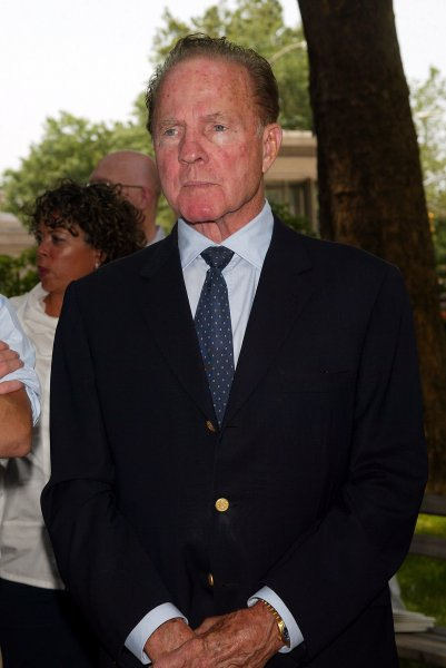 Pro football hall of famer and sportscaster Frank Gifford died Sunday at his Connecticut home, just a week shy of his 85th birthday. Photo: UPI/Laura Cavanaugh