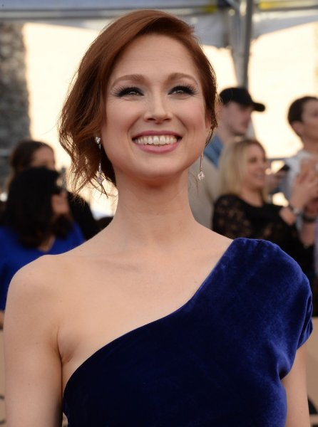 Unbreakable Kimmy Schmidt actress Ellie Kemper arrives for the the 23rd annual SAG Awards in Los Angeles on January 29. Season debuts of Unbreakable Kimmy Schmidt and Episodes and world premieres of of The Handmaid's Tale and Genius will screen at New York's Tribeca Film Festival.File Photo by Jim Ruymen/UPI