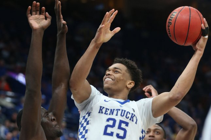 Kentucky sophomore forward PJ Washington led the Wildcats in scoring and rebounding this season. File Photo by Bill Greenblatt/UPI