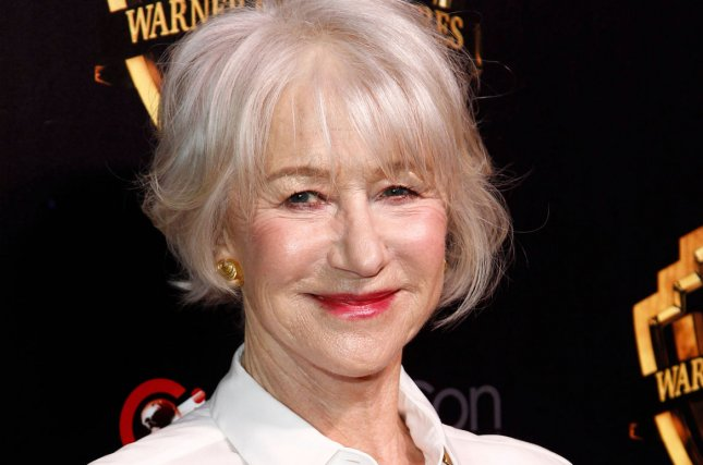 Helen Mirren will receive an homage and an honorary Golden Bear award at the Berlin International Film Festival. File Photo by James Atoa/UPI