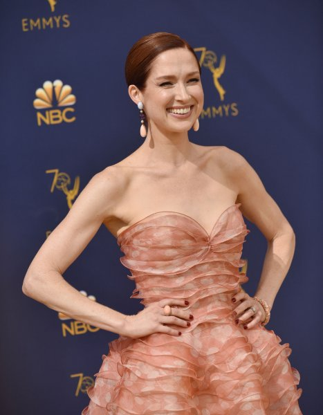 Ellie Kemper attends the 70th annual Primetime Emmy Award at the Microsoft Theater in downtown Los Angeles on September 17, 2018. The actor turns 40 on May 2. File Photo by Christine Chew/UPI