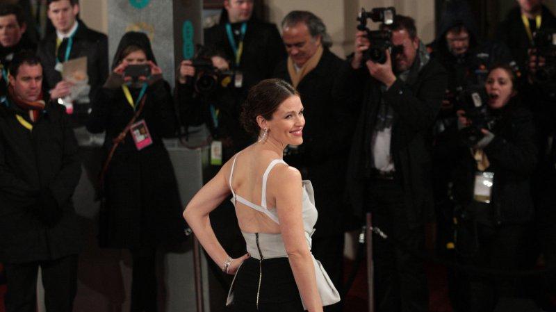 American actress Jennifer Garner arrives at the Baftas Awards Ceremony at The Royal Opera House, London on February 10, 2013. UPI/Hugo Philpott