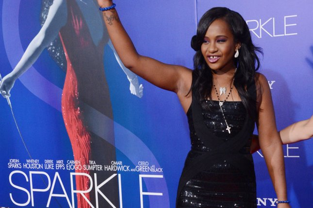 Bobbi Kristina Brown attends the premiere of the motion picture drama Sparkle, at Grauman's Chinese Theatre in the Hollywood section of Los Angeles on August 16, 2012. UPI/Jim Ruymen
