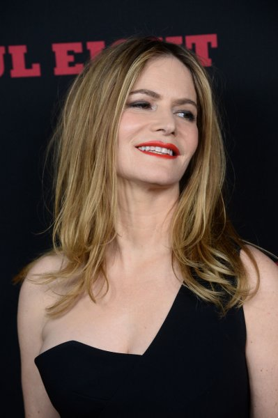 Cast member Jennifer Jason Leigh attends the premiere of The Hateful Eight in Los Angeles on December 7, 2015. Photo by Jim Ruymen/UPI