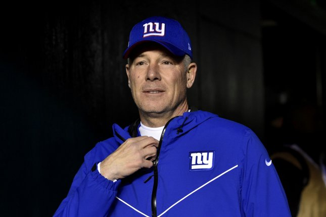 Former New York Giants head coach Pat Shurmur was fired by the team on Dec. 30 after a 4-12 season. File Photo by Derik Hamilton/UPI