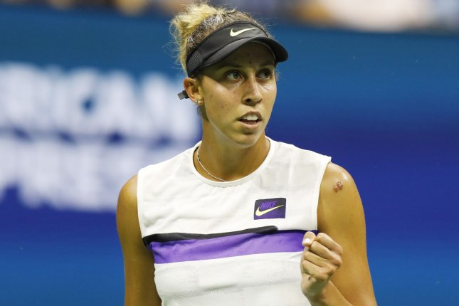 Madison Keys said she plans on a return to the WTA Tour in February after she tested positive for COVID-19. File Photo by John Angelillo/UPI