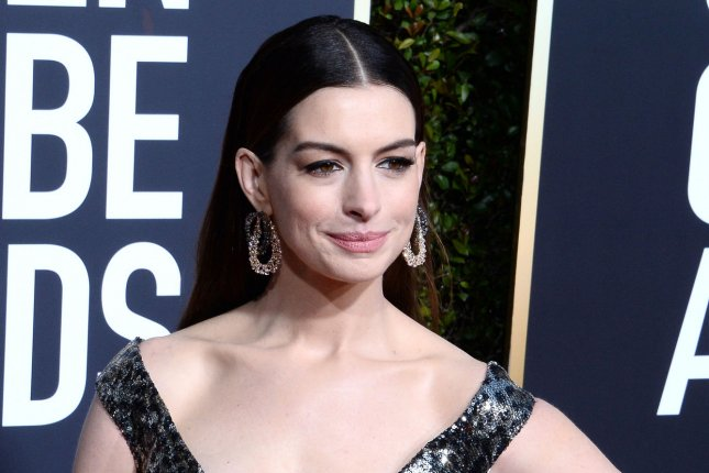 Anne Hathaway will star in romantic comedy She Came to Me along with Tahar Rahim, Marisa Tomei, Joanna Kulig and Matthew Broderick. File Photo by Jim Ruymen/UPI