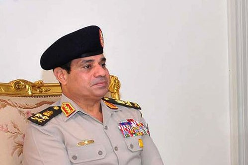Egyptian Minister of Defense Abdel Fattah al-Sisi an official handout from the Egyptian Presidency Office, dated July 6, 2013. (UPI)