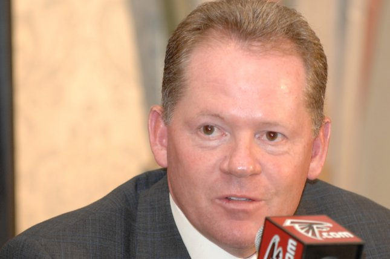 Louisville football coach Bobby Petrino. (UPI Photo/John Dickerson)