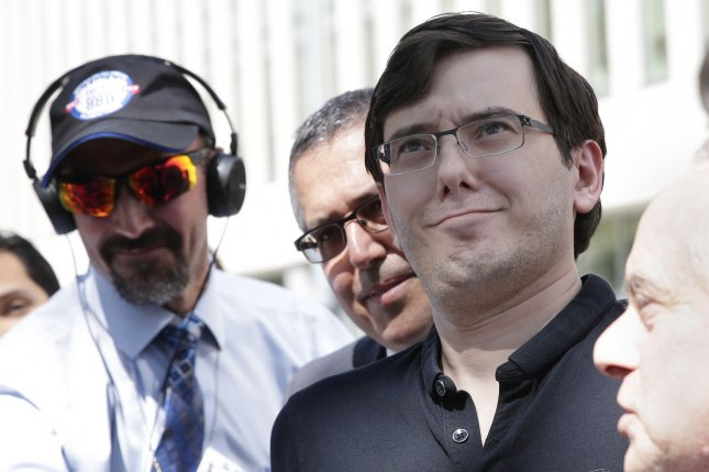 Martin Shkreli, the infamous pharmaceutical industry CEO responsible for hiking the cost of his company's lifesaving drug from $13.50 to $750 overnight, once tweeted, Every time a drug goes generic, I grieve. Photo by John Angelillo/UPI