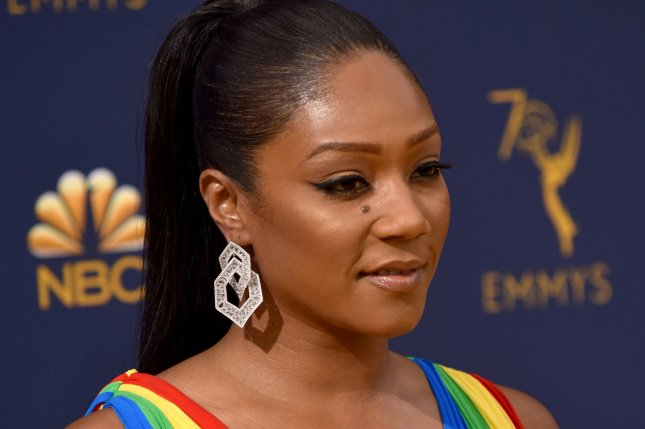 Comedian Tiffany Haddish is going on tour in 2019. File Photo by Christine Chew/UPI