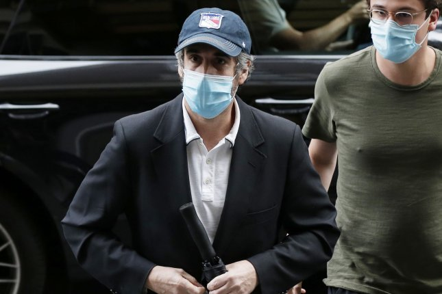Michael Cohen was released to home confinement Friday. Photo by John Angelillo/UPI