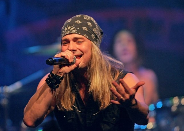 Johnny Solinger of Skid Row -- seen here in 2008 -- has died at the age of 55. File Photo by Roger Williams/UPI