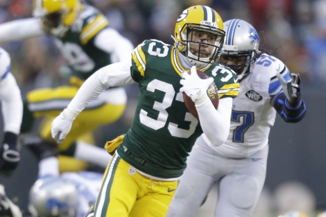 The Buffalo Bills' signing of former Packer Micah Hyde will bolster the defense. File photo UPI/Jeffrey Phelps