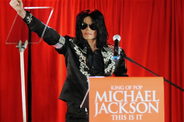 Music legend, the late Michael Jackson. A Broadway musical about Jackson's life is in development. File Photo by Rune Hellestad/UPI