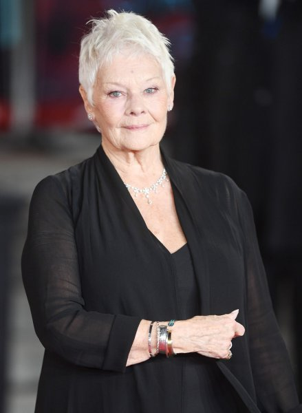 Judi Dench attends the world premiere of Murder On The Orient Express at Royal Albert Hall in London on November 2. The actor turns 83 on December 9. File Photo by Rune Hellestad/ UPI