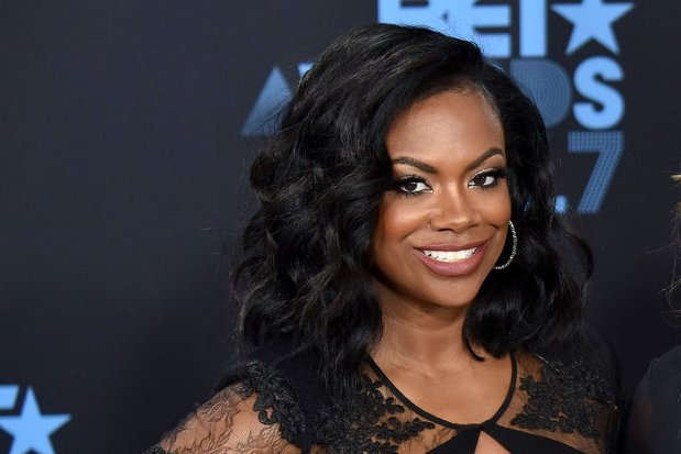 Kandi Burruss got emotional while sharing Andy Cohen's words of wisdom on Busy Tonight. File Photo by Christine Chew/UPI