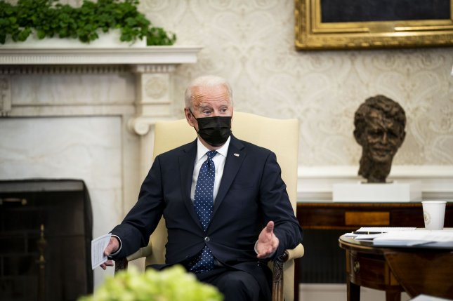 President Joe Biden is expected to be the first U.S. president to acknowledge the Armenian genocide in some four decades. Pool photo by Doug Mills/UPI