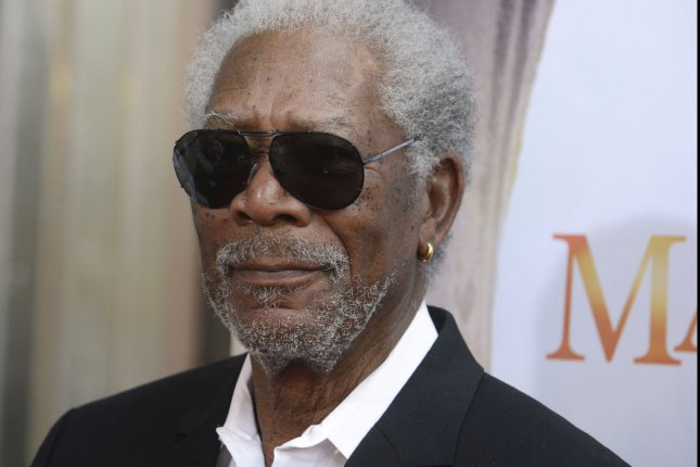 Morgan Freeman is to lead an all-star cast in the remake of the 1979 comedy classic Going in Style. File Photo by Phil McCarten/UPI