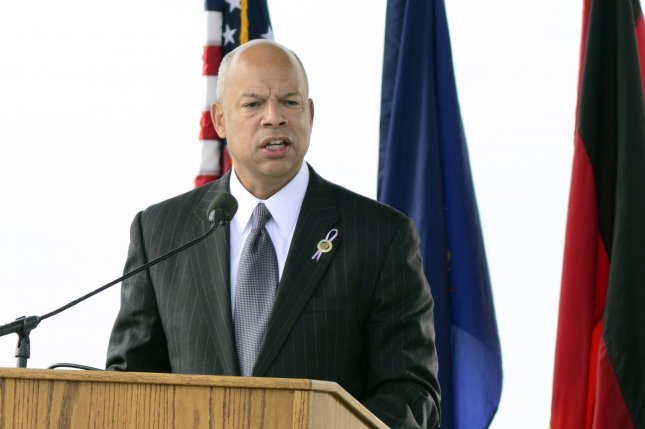 The U.S. Department of Homeland Security is preparing to deport hundreds of families who entered the United States illegally and have ignored orders to leave. DHS Secretary Jeh Johnson, seen here in September, has been a proponent of the deportations. File Photo by Archie Carpenter/UPI