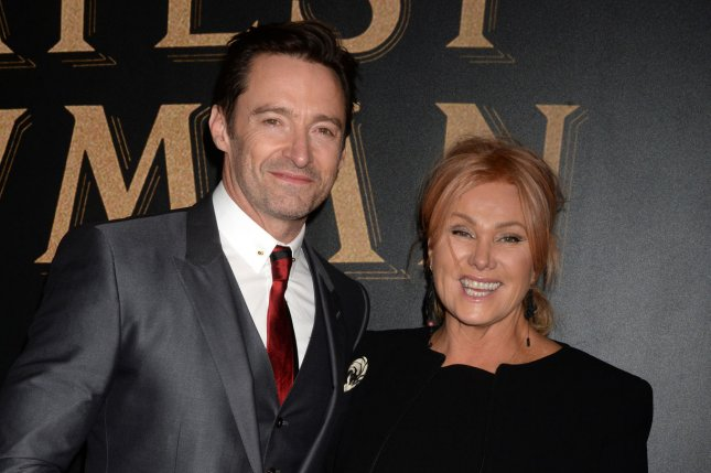 Hugh Jackman (L) with Deborra-lee Furness. Jackman stars as former politician Gary Hart in the first trailer for The Front Runner. File Photo by Dennis Van Tine/UPI