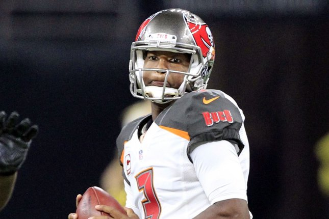 Tampa Bay Buccaneers quarterback Jameis Winston (3) throws against the New Orleans Saints on December 24, 2016 at the Mercedes-Benz Superdome in New Orleans. File photo by AJ Sisco/UPI